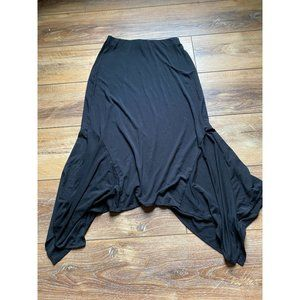 MICHAEL STARS Black Handkerchief Skirt Black XS